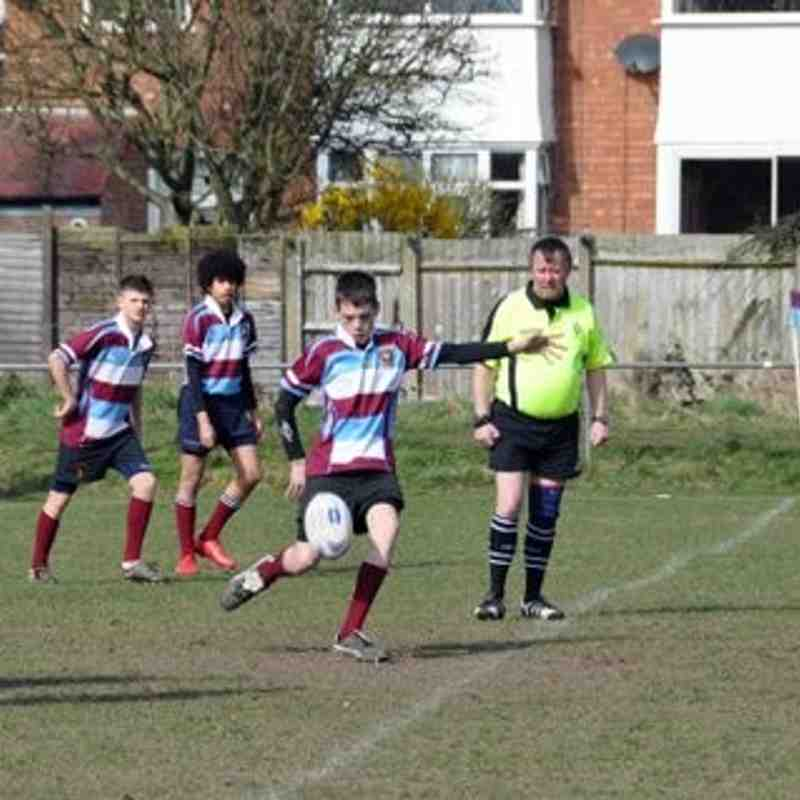 U15s V Berkswell & Balsall (pictures by Derek Slawson)