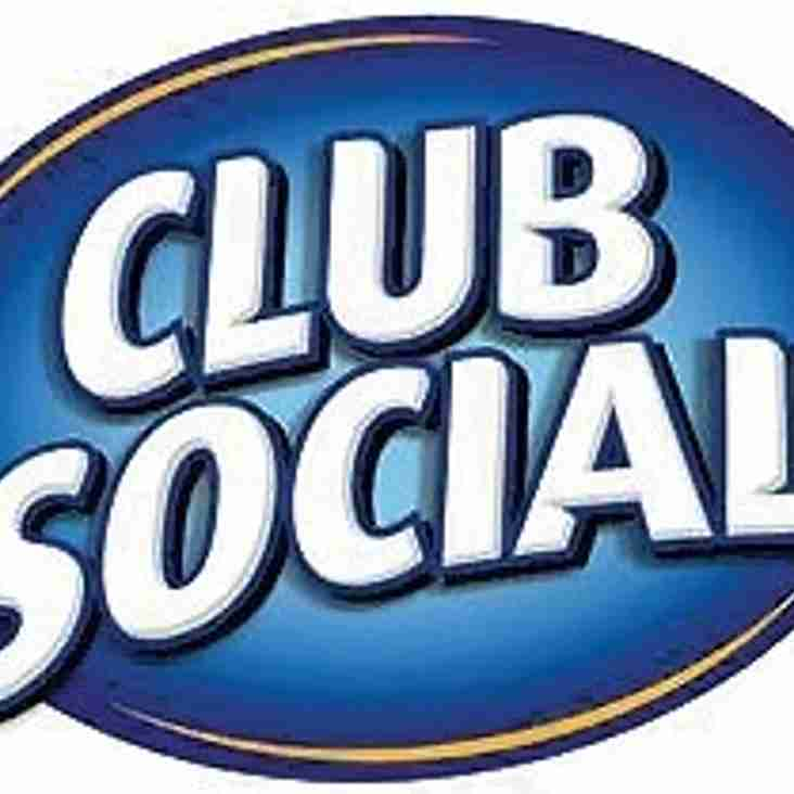 Saturday 2nd September - Opening Day of the 2017/18 Season - Club Social !