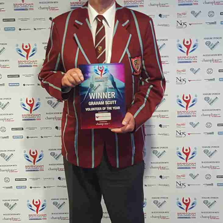 'Super Scutty' awarded with Volunteer of The Year