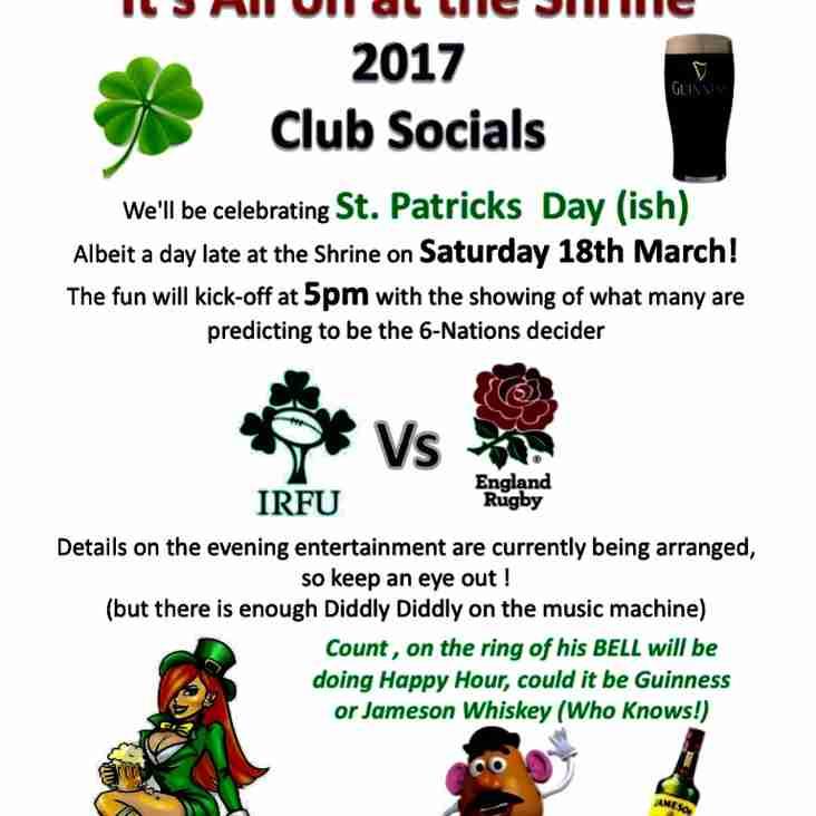 March Club Social