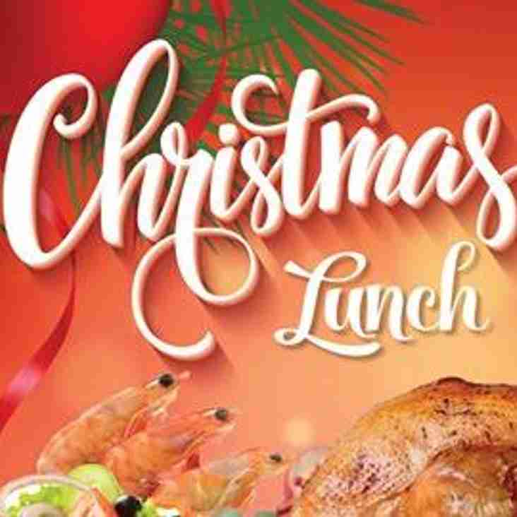 Bookings now being taken for Christmas Luncheon on 15th December
