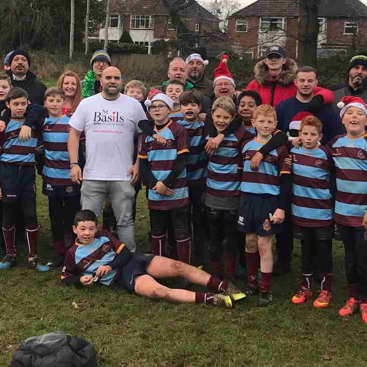 Club deliver Festive cheer to homeless young people in Birmingham