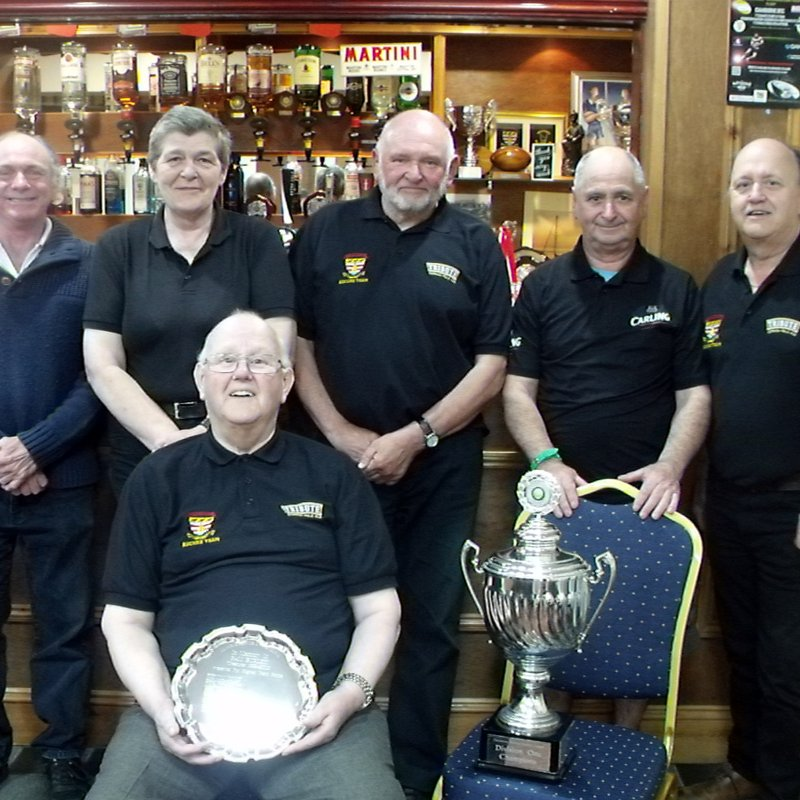 Camborne RFC Pool & Eucher teams pick up Silverwear