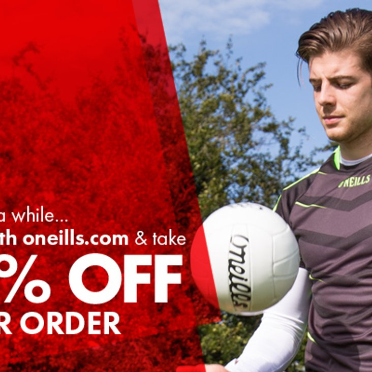 Another Great O&#039;Neill&#039;s Offer<