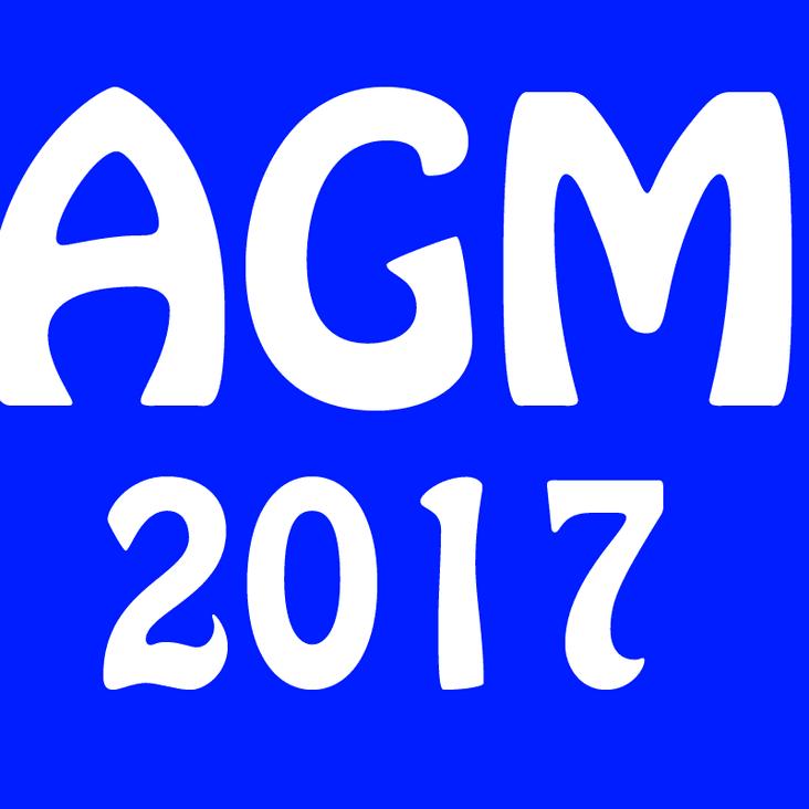 Camborne RFC Annual General Meeting 2017<