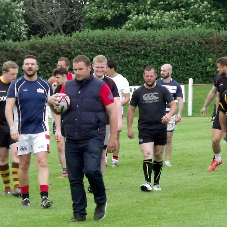 England rugby Legend at the REC on Saturday<