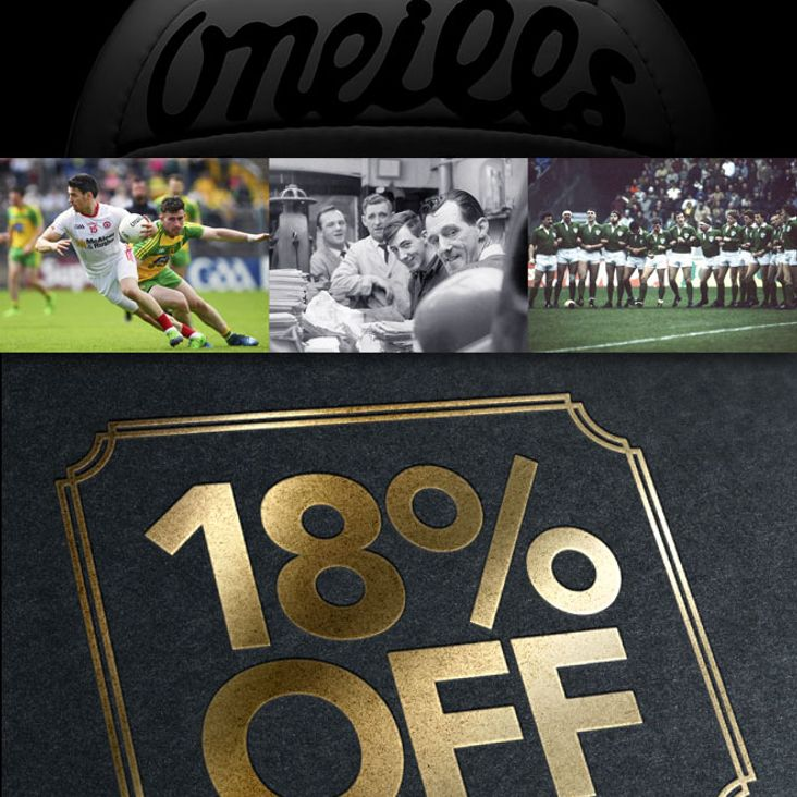 O&#039;Neills offer Discount to celebrate 100th anniversary<