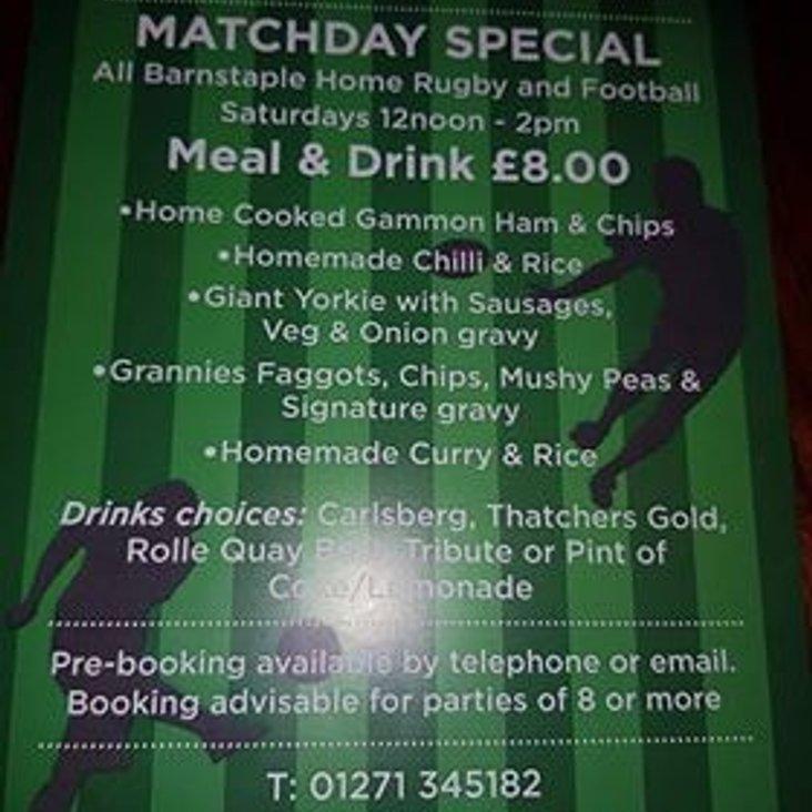 Matchday Special @ Barnstaple<