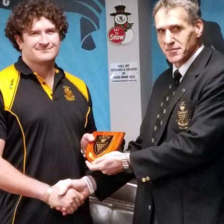 Cooky acknowledged for County appearances<