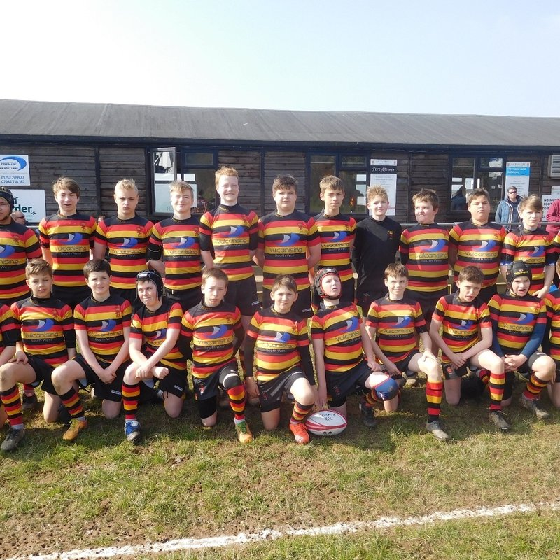 U14 lose to Newquay Hornets 12 - 30