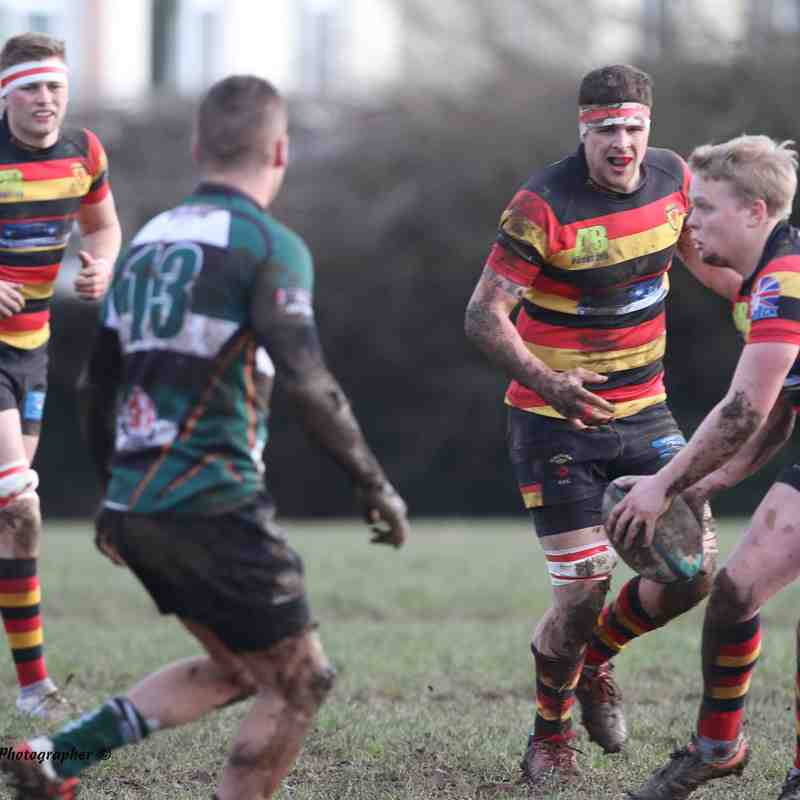 1st XV v Plymouth Argaum January 2017