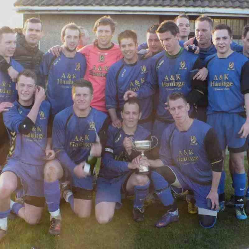 Reserve Team Cup 2012 Winners St Cleer Reserves