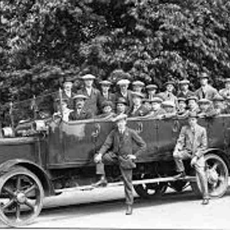 Bees Supporters Bus to Yorkshire Shield Final