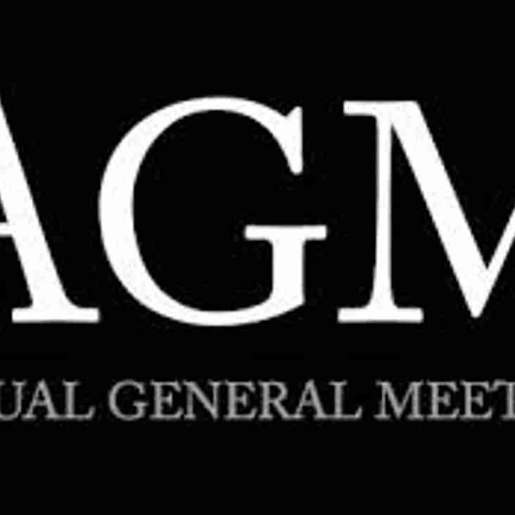 AGM for the 2015/16 Season