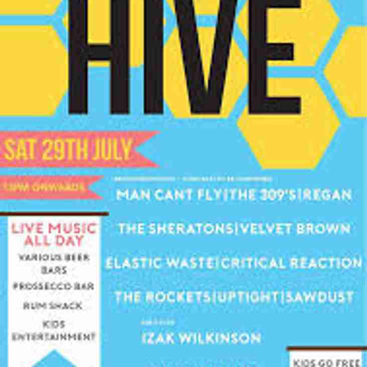 Only  5 days to go until its time for Live at the Hive!!