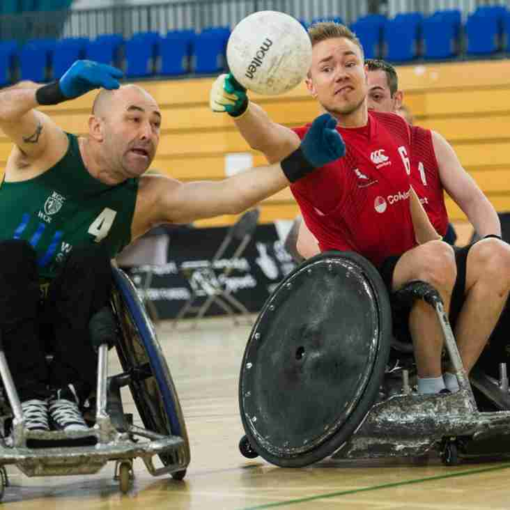 Wheelchair rugby comes to Berkshire