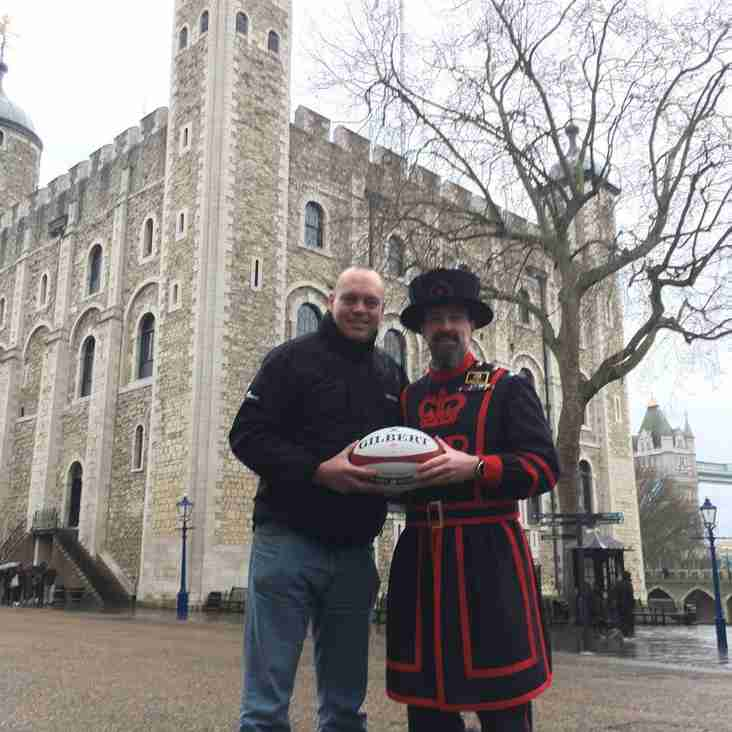 Reading RFC support Twickenham to Cardiff walk in aid of Help 4 Heroes