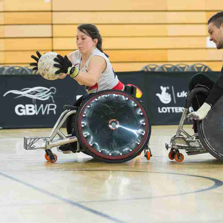 Wheelchair Rugby Free Tasters Session Sunday 19th March 12pm - 1.30pm