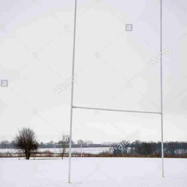 SUNDAY 18TH MARCH - ALL RUGBY CANCELLED AT RRFC & WOODFORD PARK