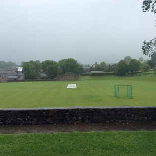 Rain stops play in local derby