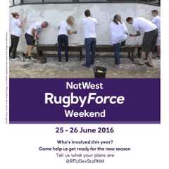 RugbyForce tidy up / work weekend THIS WEEKEND 25th / 26th June