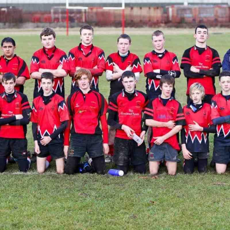 Clydebank U16 vs Wigtownshire 6 Feb 2011