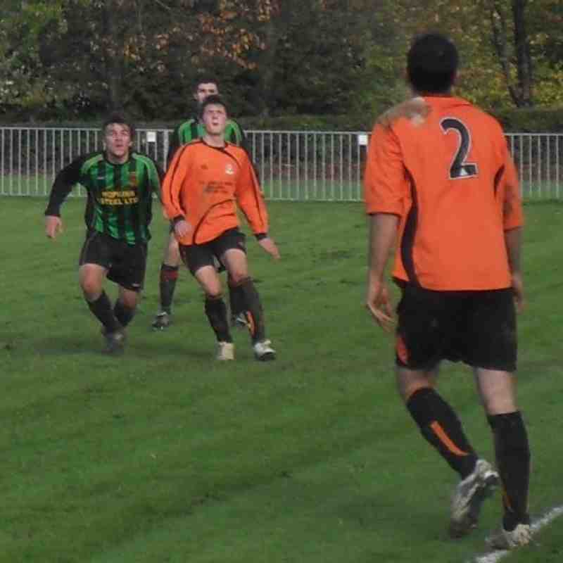 Builth Wells v Waterloo Rovers