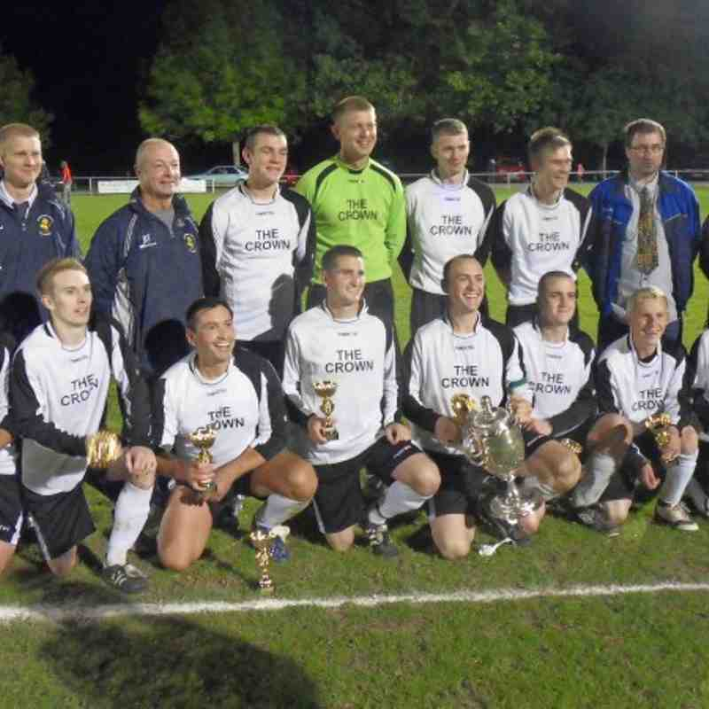 Llanrhaeadr v Montgomery Town (Montgomeryshire Cup Final)