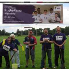 NatWest RugbyForce Weekend....
