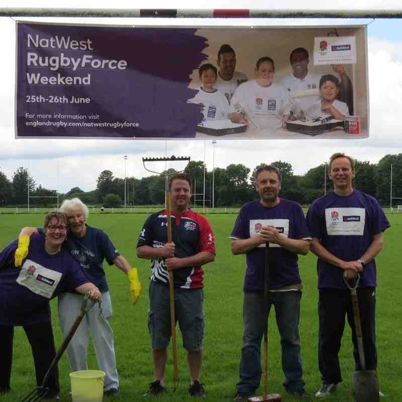 AK Natwest Rugby Force Wknd Day 1