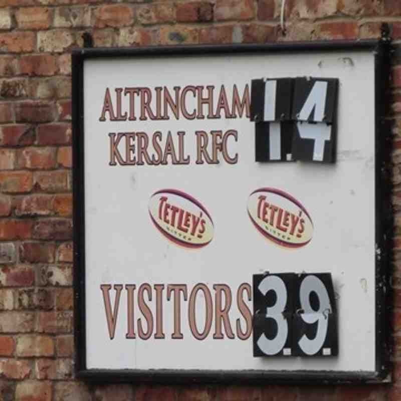 AK (14) vs Northwich (39) Cheshire Vase Aug 27th '16