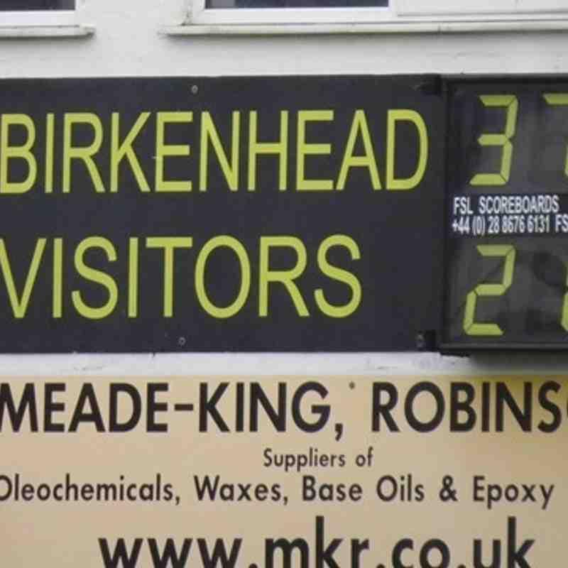 AK1 (21) vs Birkenhead Park (37) Sept 3rd 2016