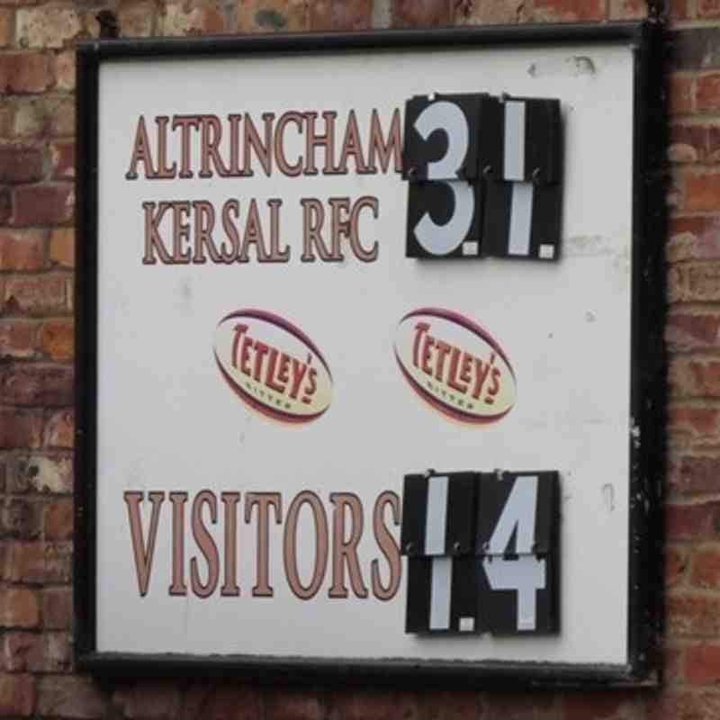 AK (31) vs Leigh (14) 24th Sept 2016