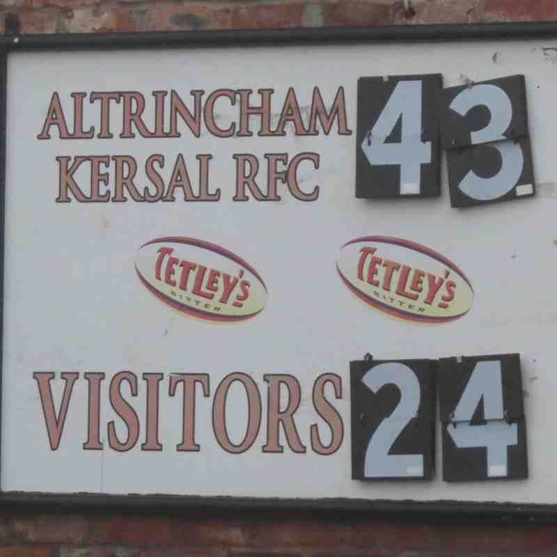AK1 (43) vs Eccles (24) Sat 26th Nov '16