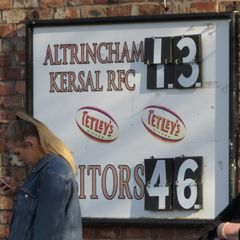 AK1 (13) vs Kirby Lonsdale (46) Sat 25th Mar '17