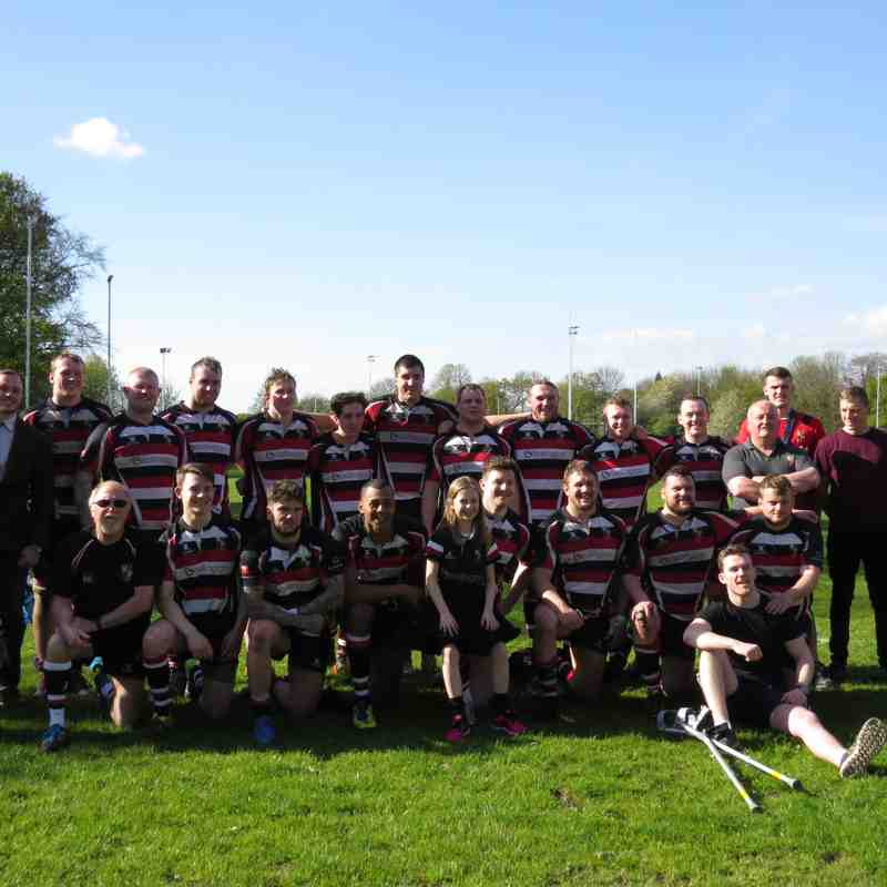 AK1 (15) vs Birkenhead Park (34) Sat 22nd Apr '17