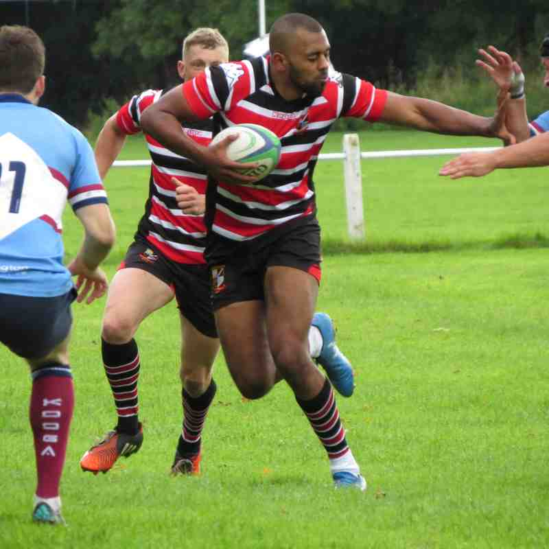 AK1 (9) v Wilmslow (36) Sat 9th Sept '17