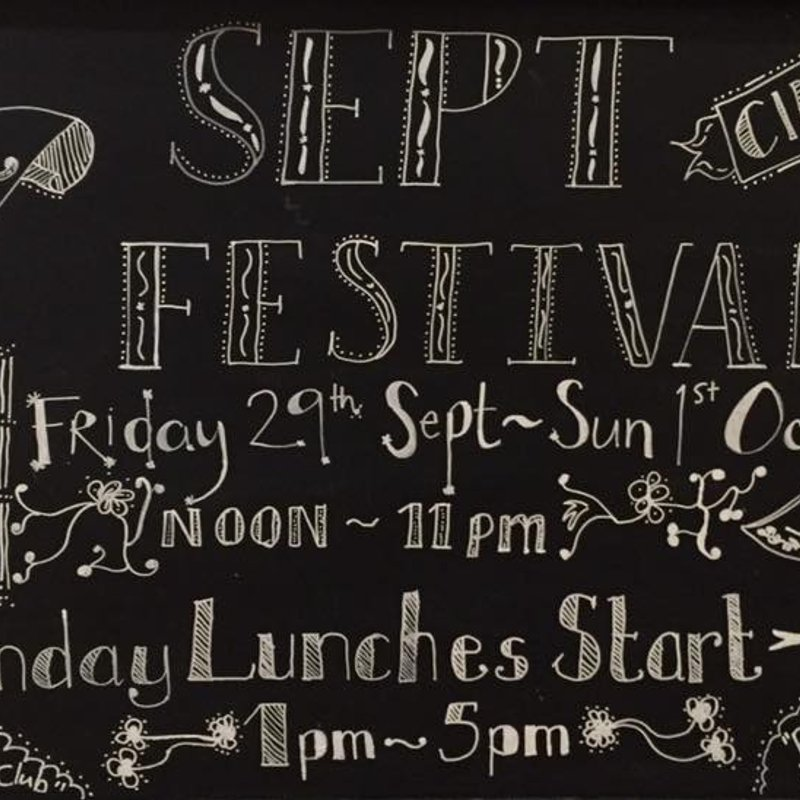 All Welcome to our 3rd ANNUAL BEER FEST starts 29th Sept