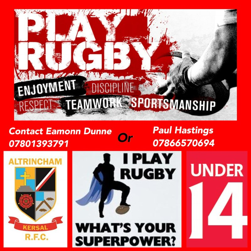 Looking for U14s Players NOW!