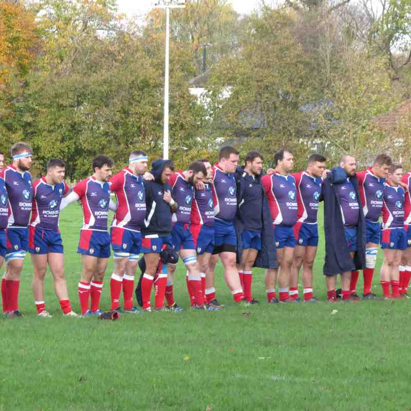 AK1XV (8) vs Blackburn (34) Sat 11th Nov '17