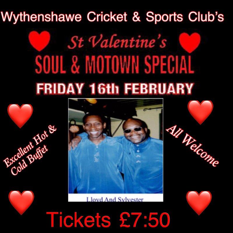 Valentines Soul & Motown Night