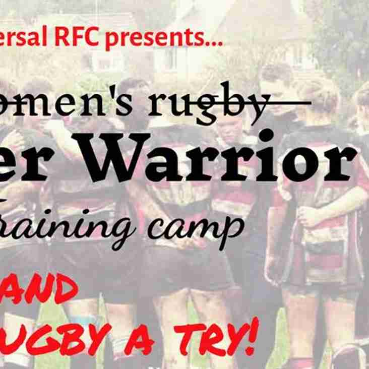 INNER WARRIOR Womens Rugby Training Camp