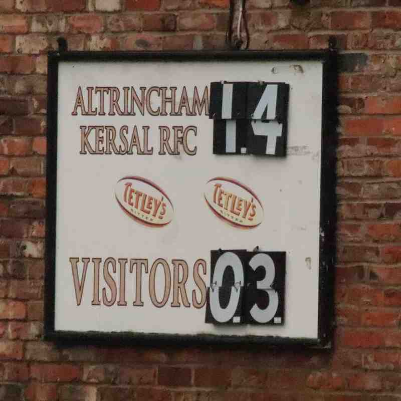 AK1 (14) v Warrington (3) Sat 3rd Feb '18