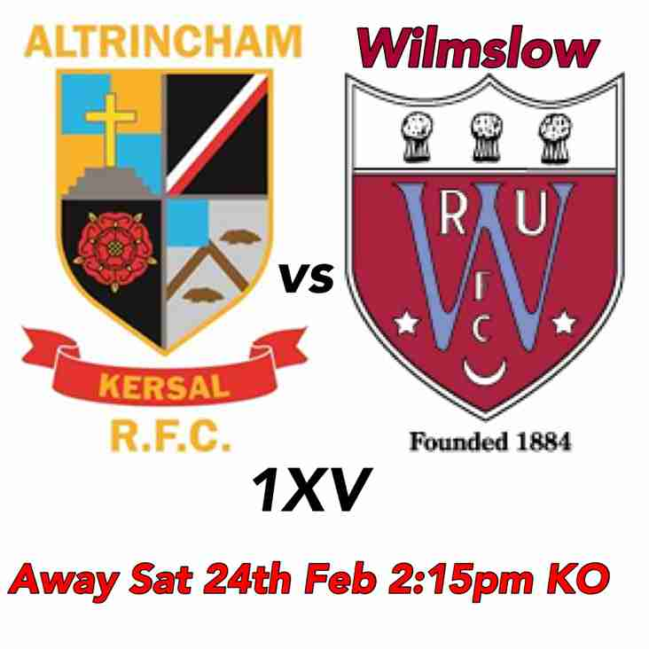 Sat 24th AK1XV rearranged match at Wilmslow