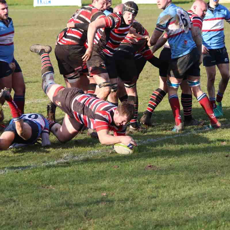 AK1XV (22) vs Wilmslow (12) Sat 24th Feb '18