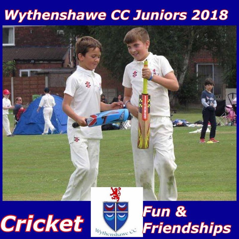 Wythenshawe CC Jnrs Outside Training & Info For Parents