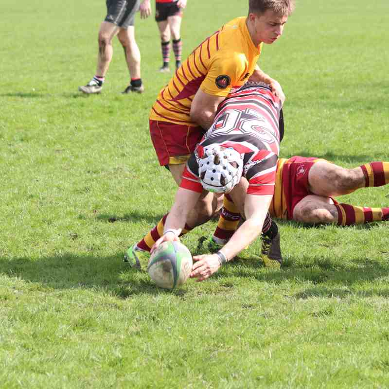 AK1XV (19) vs Douglas (15) Sat 14th April 2018