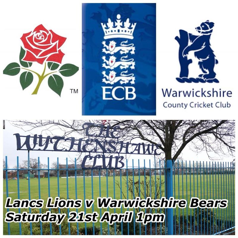Lancashire Lions VICC selected home fixtures at Wythenshawe CC