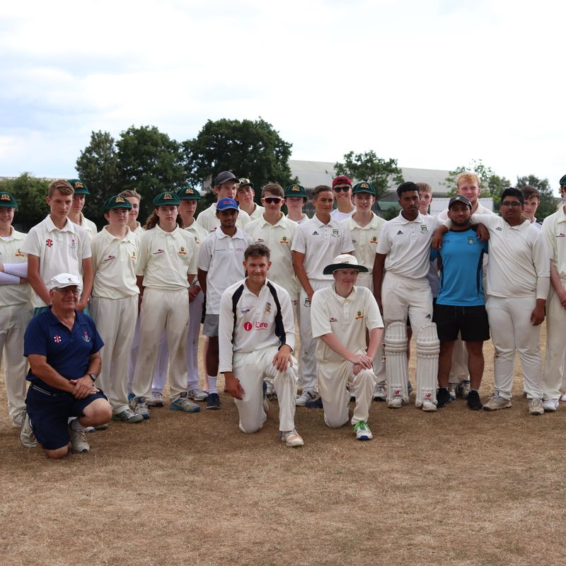 Excellence in Youth Cricket & International Friendship wins on the day!