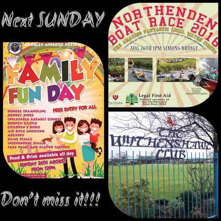 Northenden's BIGGEST day of the YEAR~Sun 26th August from 12pm